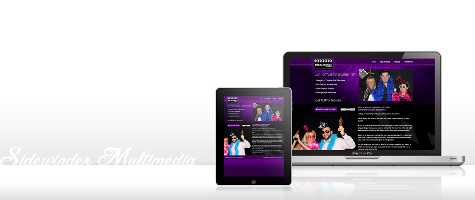 We design responsive sites